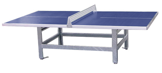 """Sport-Thieme Polymerbeton-Tischtennistisch """"Standard"""" Blau"""