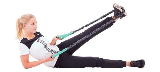 Sport-Thieme® Premium Tube Grün = leicht, 127 cm