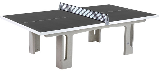 "Sport-Thieme® ""Pro"" Polymer Concrete Table Tennis Table Anthracite"