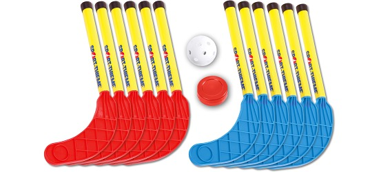 Sport-Thieme® Rollbrett-Hockey Set