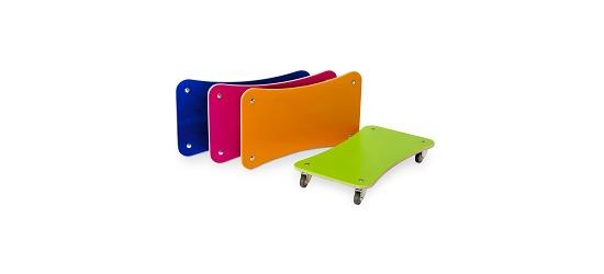 "Sport-Thieme® Rollbrett-Set ""Color-Line"""