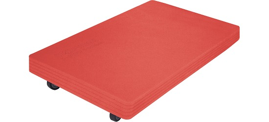 "Sport-Thieme® ""Soft"" Roller Board Red padding"