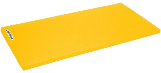 "Sport-Thieme® Turnmatte ""Spezial"", 200x125x8 cm Basis, Polygrip Gelb"