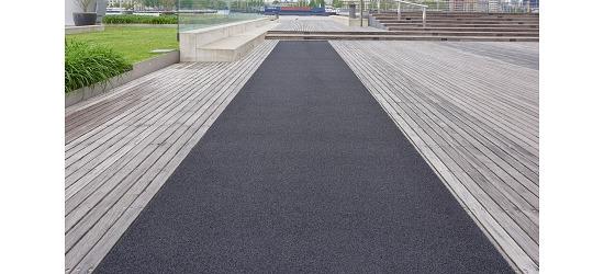 "Sprint Tracks Kunstrasen-Laufbahn ""Standard"" Schwarz, 2x10 m"