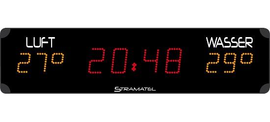 """Stramatel® Schwimmbad-Anzeigetafel """"PHL 12.1"""""""