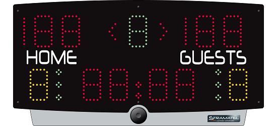 Stramatel Scoreboard Mains-powered