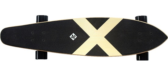 """Streetsurfing® Longboard Kicktail """"Azure"""""""