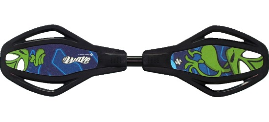 "Streetsurfing® Waveboard Wave MINI SL ""The Alien"""