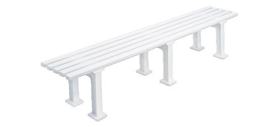 """Stuttgart"" Tennis Bench, Without Backrest, 200 cm"