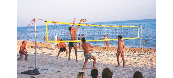 "SunVolley® Beachvolleyball-net ""Plus"""