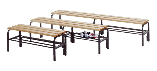 Sypro Wolf® Changing Bench for Dry Areas without Backrest 1.01 m, Without shoe shelf