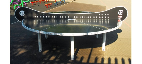 "T3® Ping Pong Tischtennisplatte ""Tournament Outdoor"""