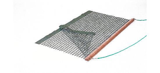 Tennisplatz-Schleppnetz