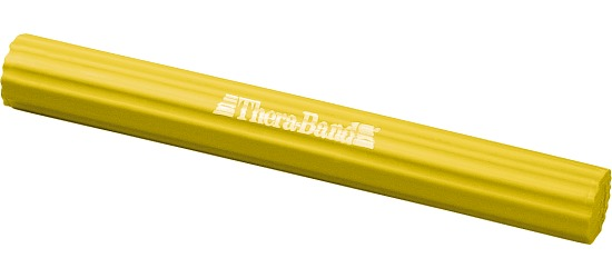 Thera-Band Fleksibel Træningsstav Gul, ca. 0,7 kg.