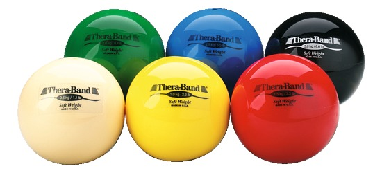 TheraBand™ Gewichtsbälle Set