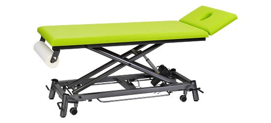 Therapieliege Ecofresh 68 cm Anthrazit, Lindgrün
