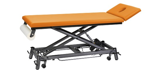 Therapieliege Ecofresh 80 cm Anthrazit, Apricot