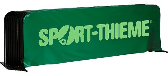 Tischtennis-Spielfeldumrandung 10er Set Mit Sport-Thieme Aufdruck, Grün