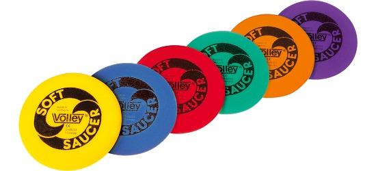 "Volley® Frisbees ""Soft Saucer"""