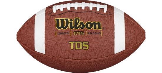 """Wilson American Football """"Traditional Composite"""" Size 6"""