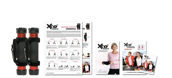 XCO® ALU Premium Set inkl. 2 Trainingsprogrammen auf DVD