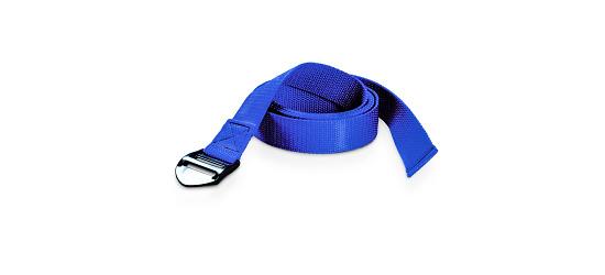 Yoga-Baumwollgurt Blau