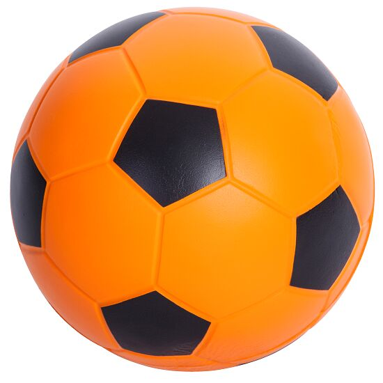 Sport-Thieme® PU-Fußball Orange/Schwarz