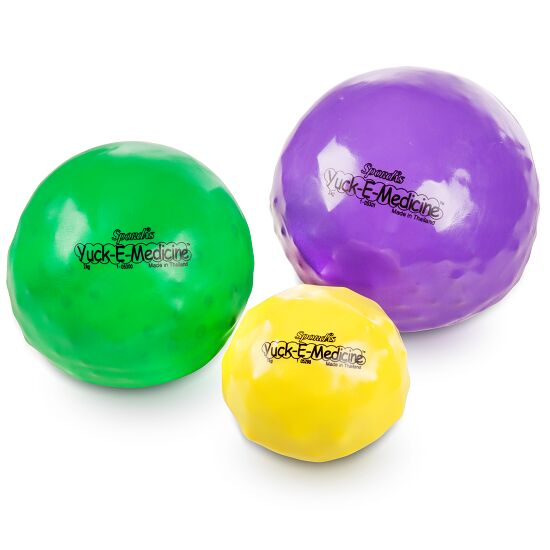 Weicher Medizinball / Gewichtsball 1 kg, ø 12 cm, Gelb