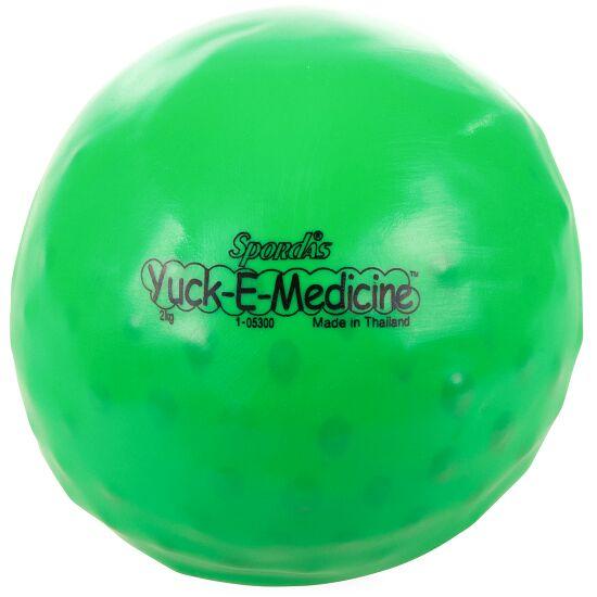 Weicher Medizinball / Gewichtsball 2 kg, ø 16 cm, Grün