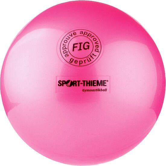"Sport-Thieme® Hochglänzender Wettkampf-Gymnastikball ""420"" Pink"