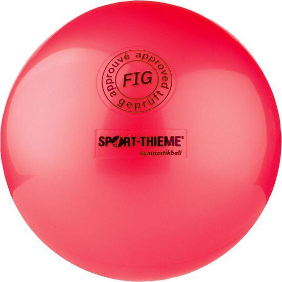 "Sport-Thieme® Hochglänzender Wettkampf-Gymnastikball ""420"" Rot"