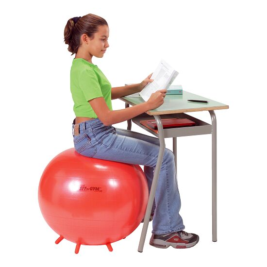 "Gymnic® Sitzball ""Sit 'n' Gym"" ø 55 cm, Rot"