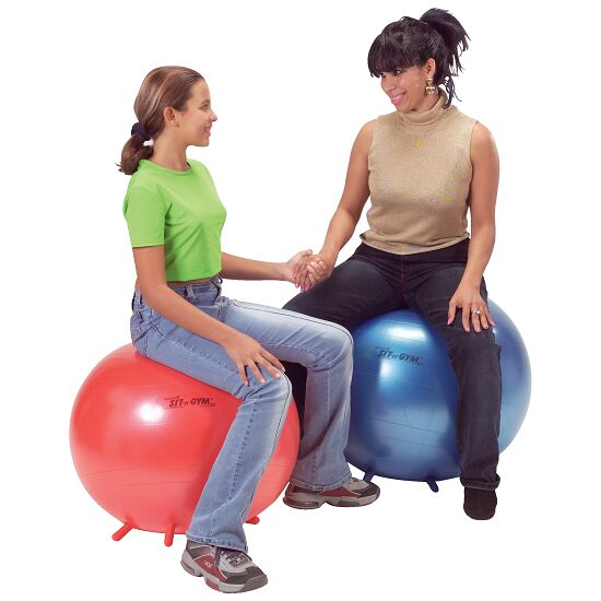 "Gymnic® Sitzball ""Sit 'n' Gym"" ø 65 cm, Blau"