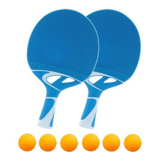 "Cornilleau® Tischtennisschläger-Set ""Tacteo 30"" Bälle Orange"