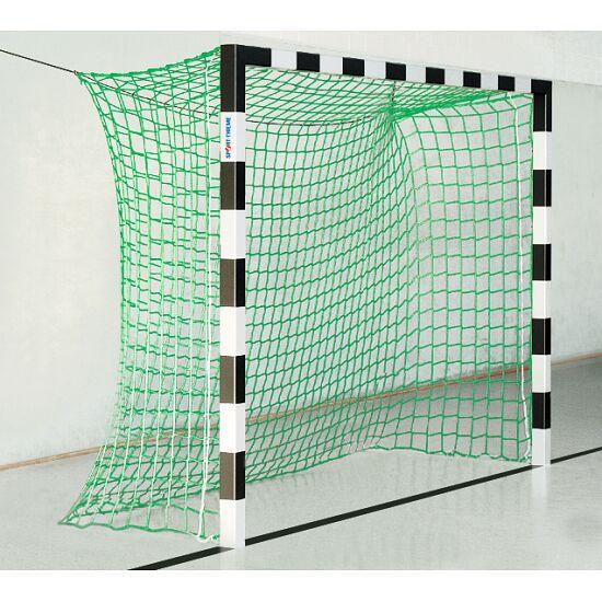 Sport-Thieme® Hallenhandballtor, 3x2 m, ohne Netzbügel Schwarz-Silber
