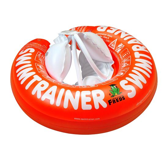 "Schwimmring ""Baby Swimtrainer Classic"" Rot, ca. 3 Monate bis 4 Jahre"