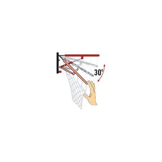 "Sport-Thieme® Basketballkorb ""Indoor"", abklappbar Abklappbar ab 45 kg"