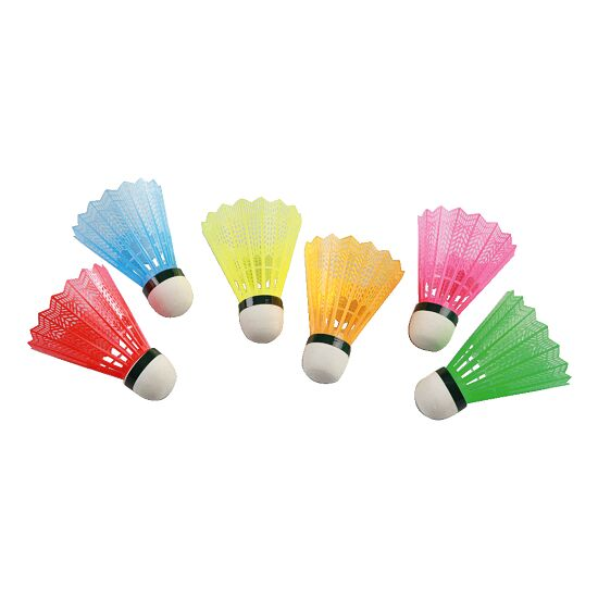Victor® Badmintonbälle mit farbigem Korb