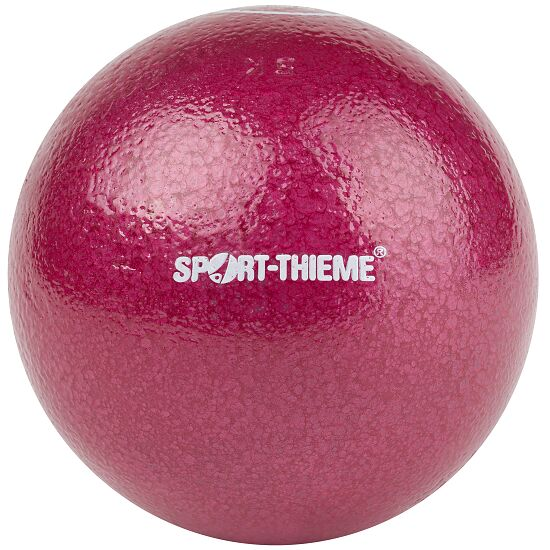 Sport-Thieme® Trainings-Stoßkugel 5 kg, Rot, ø 109 mm
