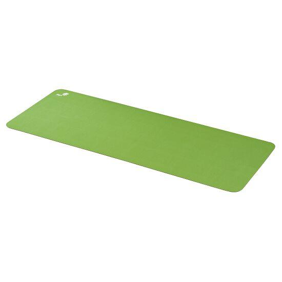 Calyana® Yogamatte Prime Limonengrün-Nussbraun
