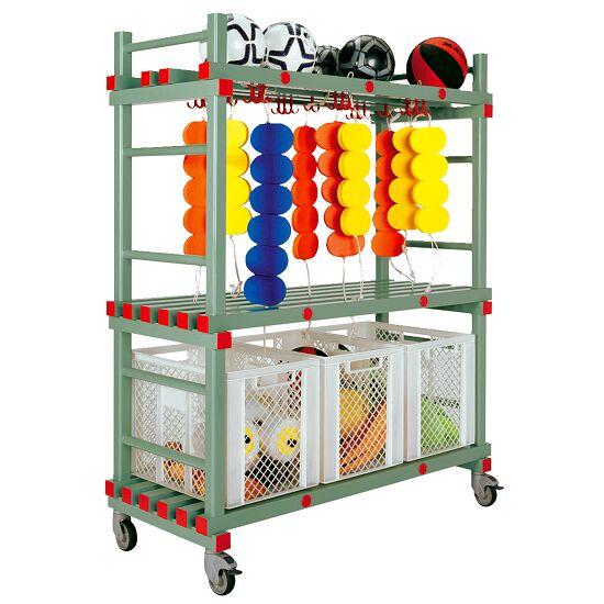 REA® Kunststoff Kombi-Materialwagen