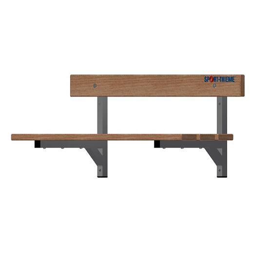 Sport-Thieme® Umkleidebank zur Wandbefestigung