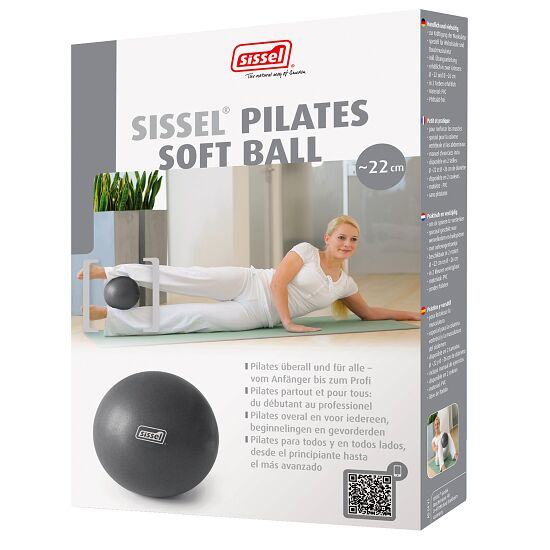 Sissel® Pilates Soft Ball ø 26 cm, Metallic