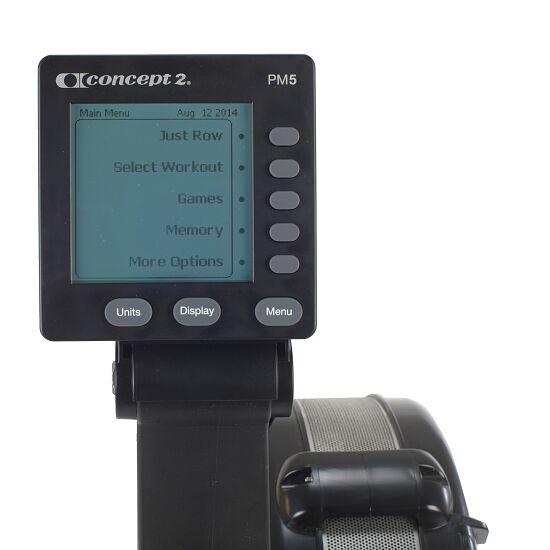 """Concept2® Rudergerät """"Modell D"""" mit PM5 Monitor Schwarz"""