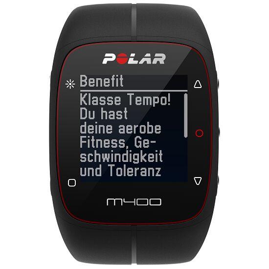 """Polar® Herzfrequenzmesser """"M400 HR"""" (inkl. H7 Bluetooth Brustgurt) Black"""