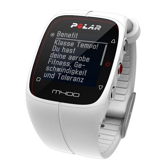 """Polar® Herzfrequenzmesser """"M400 HR"""" (inkl. H7 Bluetooth Brustgurt) White"""