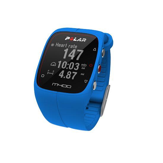 """Polar® Herzfrequenzmesser """"M400 HR"""" (inkl. H7 Bluetooth Brustgurt) Blue"""