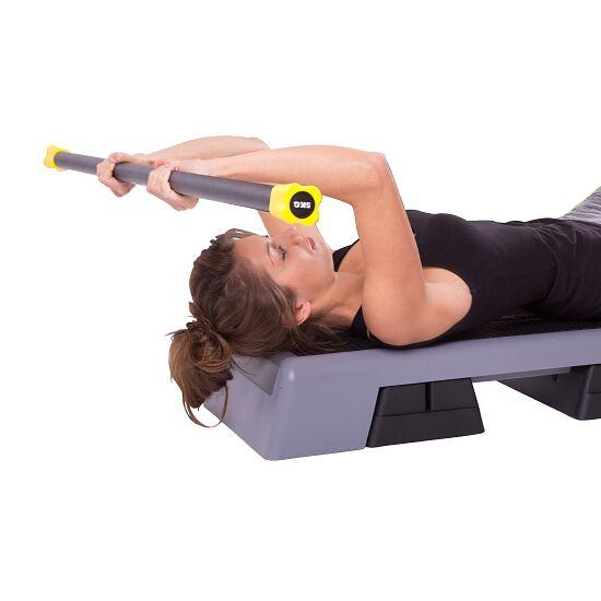 Sport-Thieme® Steel Weighted Bar 5 kg, Gelb