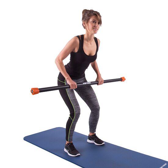 Sport-Thieme® Steel Weighted Bar 8 kg, Orange