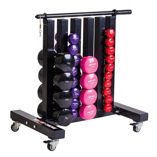 Sport-Thieme® Fahrbarer Ablageständer für Gymnastikhanteln Klein